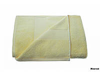 Полотенце для пляжа, бани и сауны 100 х 150 см, Желтое, Arya Miranda, Турция