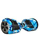 Гироскутер Smart Balance Wheel 6,5 Синий хаки (+Mobile APP)