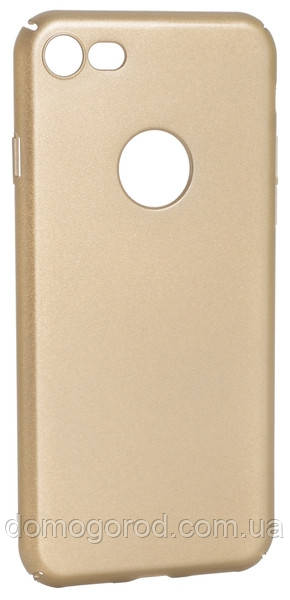 Чехол DiGi iPhone 7 - Full cover PC Gold (6315378)