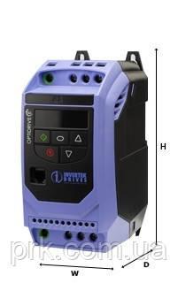 Преобразователь частоты (инверторы) INVERTEK ODE-2-34055-3K042  5,5  кВт