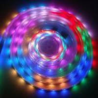 Диско Светодиодная лед Лента 7 Цветов Led Комплект 5050 Супер Эффекты !!!