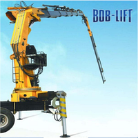Мобильный гидравлический кран 25 тн BOB LIFT