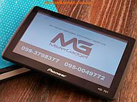 GPS Навигатор Pioneer 717 7-дюймов FM-Модулятор Навител Av-In Bluetooth PI-717