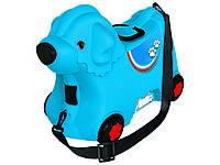 Детский чемодан собачка на колесиках BIG. Германия