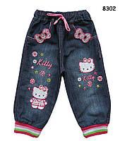 Джинсы Hello Kitty для девочки. 3, 4 года, фото 1