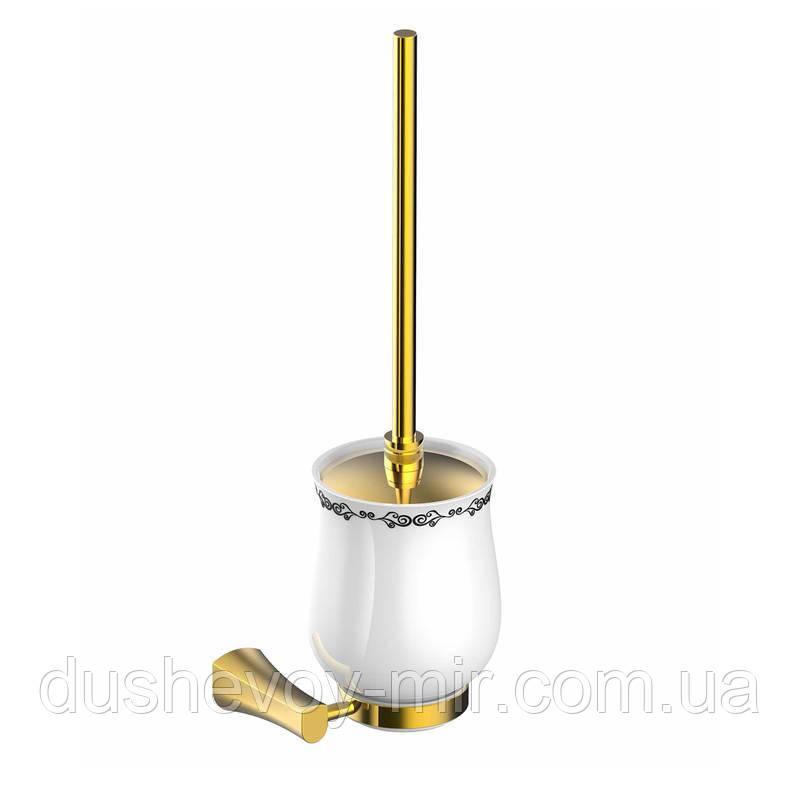 IMPRESE CUTHNA zlato щетка для унитаза 150280 zlato