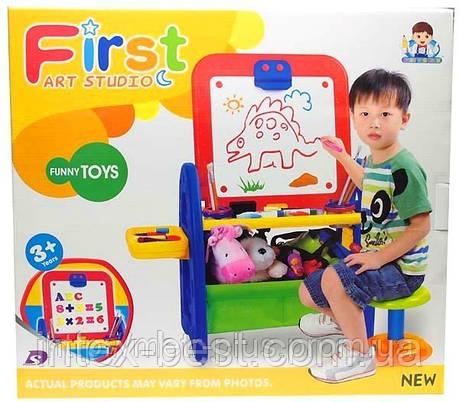 Детская доска для рисования со стульчиком XFG 905, фото 2