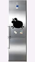 Меловая доска на холодильник 30х40