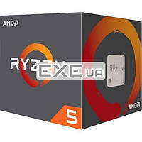 Процессор AMD Ryzen 5 1600 3.2GHz/ 5GT/ sAM4/ 16MB BOX (YD1600BBAEBOX)