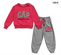 Спортивный костюм Gap для девочки. Маломерит. 1, 3, 4 года, фото 1