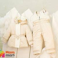 Куртка зимняя для девочки Mimino Первый снег