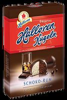 Шоколадные конфеты Halloren Kugeln Schoko-Rum, 125 г., фото 1