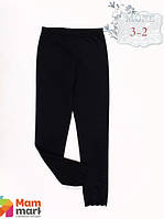 Лосины для девочки Mone 3-2, цвет черный р.152