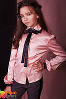 Блузка для девочки Baby Angel 660, цвет персиковый