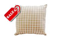 Подушки декоративные ткань лён (50х50см), наполнитель холлофайбер