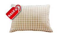 Подушки декоративные ткань лён (50х70см), наполнитель холлофайбер