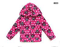 Плюшевая кофта Minnie Mouse для девочки. 5 лет