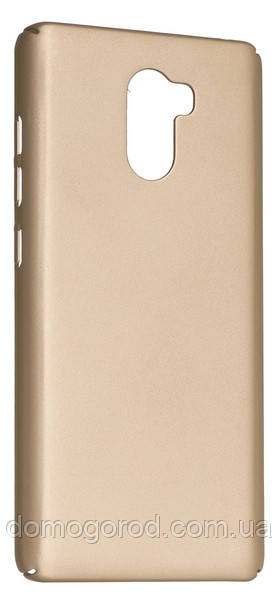 Чехол DiGi Xiaomi Redmi 4 - Soft touch PC Gold (6330592)