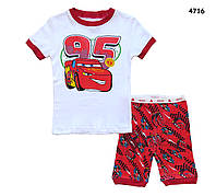 Летняя пижама Cars для мальчика. 3 года