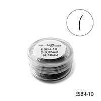 Ресницы в банках ESB-I-10 (диаметр: 0,25 мм, длина: 10 мм),