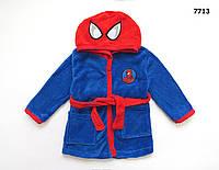 Халат Spiderman для мальчика. 2 года