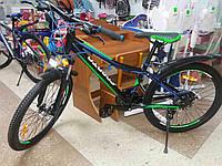 """Скидка! Подростковый алюминиевый велосипед 24"""" BENETTI SPARTO"""