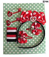 Набор бижутерии Minnie Mouse для девочки, в коробке, фото 1