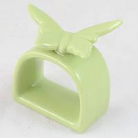 Держатель для салфетки с бабочкой зелеый LN46-G