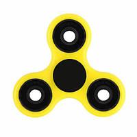 Спиннер металлический (антистрессовая игрушка) (Желтый / Черный) 61041