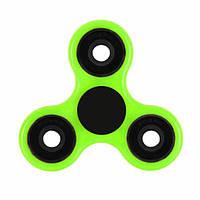 Спиннер металлический (антистрессовая игрушка) (Зеленый / Черный) 61043