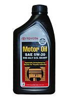 Оригинальное моторное масло TOYOTA SAE 5W-20