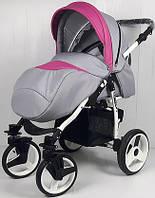 Детская прогулочная коляска NESTOR ACTIVE RAINBOW HIT 01 розовая
