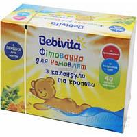 Фитованна календула и крапива Bebivita 50г