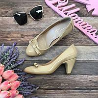 Элегантные лаковые туфли Carvela с декоративным бантиком  SH2673