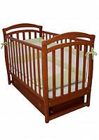 Детская кроватка VERES СОНЯ ЛД-6 ольха (маятник с ящиком) (6.02)