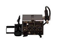 АКЦІЯ! Термоповітряна паяльна станція фен+паяльник+димопоглинач KRAFT&DELE 968DA+ (KD861)