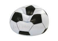 Надувное кресло Футбольный мяч Intex 68557 (108х110х66 см. )
