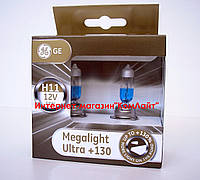Автомобильные лампы General Electric H11 Megalight Ultra +130% 12V 55W  PGJ19-2  2шт (Венгрия)