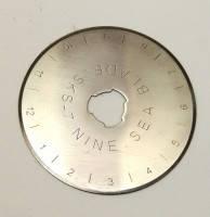 Диск на раскройный нож для пэчворка 45 мм.