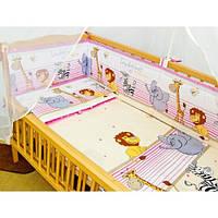 """ДБ017/1 Спальний набір у дитяче ліжко """"Бім Бом"""" (без балдахіна)"""