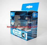 Автомобильные лампы GE H7 4200K Sportlight Ultra +30% 58520SBU PX26d - 2шт (Венгрия)
