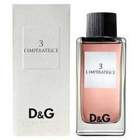 Женская туалетная вода Dolce&Gabbana № 3 L'IMPERATRICE от Dolce&gabbana, 100 мл.