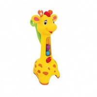 Игрушка-каталка - АККУРАТНЫЙ ЖИРАФ (свет, звук) от Kiddieland - preschool - под заказ - ОПТ