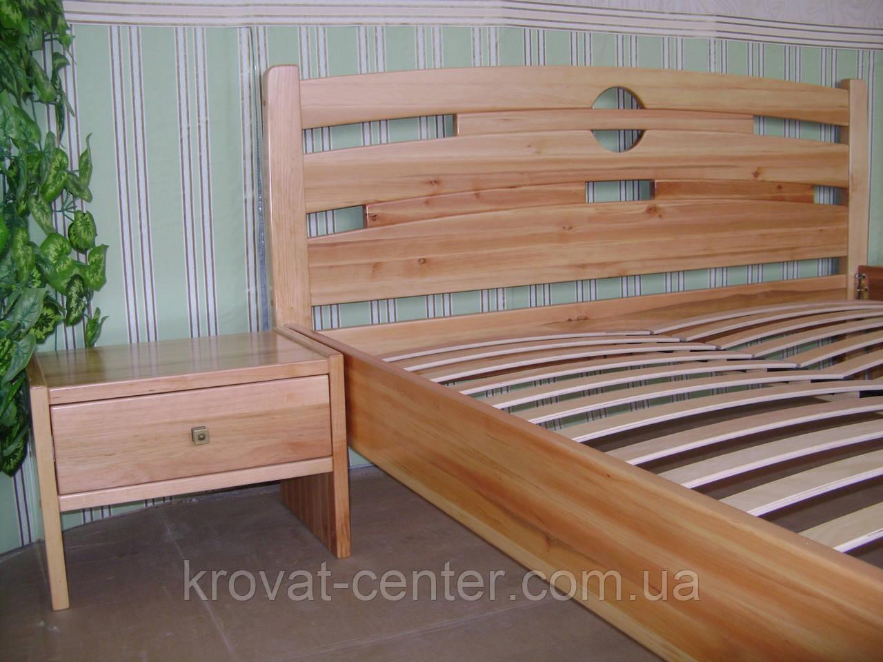 """Тумба """"Презент"""" (массив - сосна, ольха, береза, дуб) - Творческая мастерская """"КРОВАТЬ центр"""" - деревянная мебель от Производителя. Индивидуальный подход. в Северодонецке"""