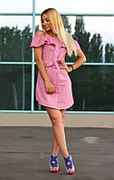 Платье женское модное с поясом арт.159, фото 1