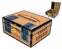 Хьюмидор «Сигарная коробка» на 25 сигар 920310 Angelo, дерево кедр