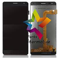 Дисплей для мобильного телефона WileyFox Spark X, черный, с тачскрином