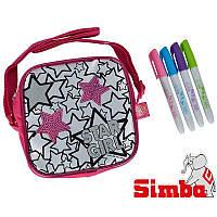 "Детская сумочка ""Разрисуй меня"" Star girl Simba 6379139"