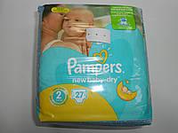 Pampers new baby №2 (для новорожденных 3-6 кг.)