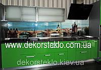Фартук из стекла с фото на заказ в Киеве